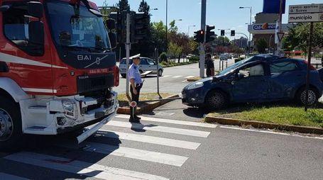 Incidente a Monza, coinvolti i Vigili del fuoco