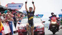 Per Lilian Calemjane la gioia della prima vittoria da professionista (La Vuelta)