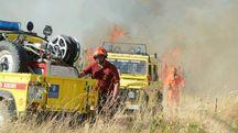 Vigili del fuoco al lavoro (foto di repertorio)