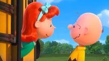 Charlie Brown ed Heather, la ragazzina capelli rossi