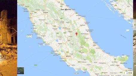 Terremoto tra Norcia e Rieti