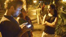 Terremoto, gente in strada  Rimini (Foto Migliorini)
