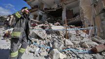 Terremoto, Amatrice distrutta (Lapresse)