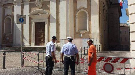 Danni anche alla chiesa di San Giovanni a Macerata