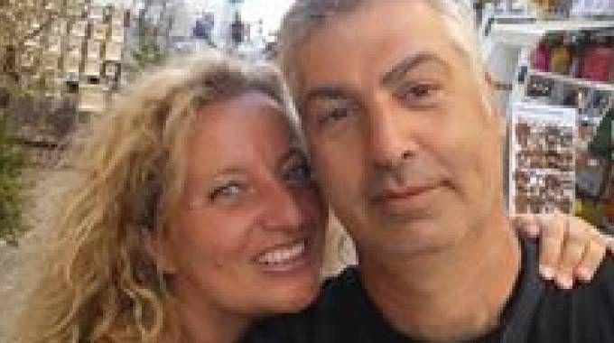 Mauro Marincioni e la moglie Gabriella