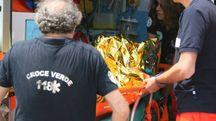 La nonna ultracentenaria è ancora ricoverata nel reparto di rianimazione dell'ospedale Versilia. E' in coma