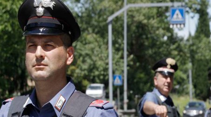 Sul posto sono intervenuti subito i carabinieri