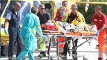 Terremtoo, l'arrivo dei feriti all'ospedale Torrette (Foto Antic)