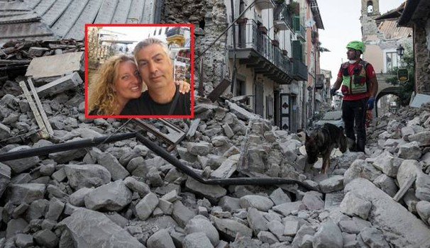 Sur la photo Marincioni Mauro et son épouse Gabriella Sargeni . Source lanazione.it