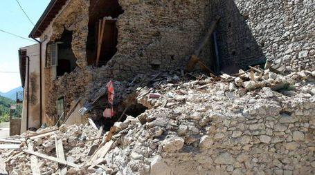 La distruzione del terremoto a Norcia