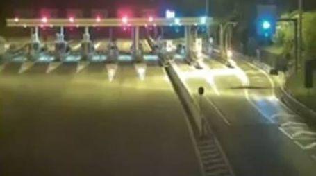 Le telecamere dell'autostrada A24 ( da twitter)