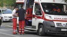 Un'ambulanza (foto d'archivio)