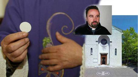 Don Ivan Bellomarì, la chiesa del Cuore Immacolato di Maria a Frontone (PU)