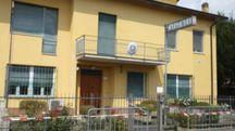 La caserma dei carabinieri di Luzzara (Foto Lecci)