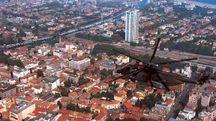 Una veduta panoramica di Rimini: fino al 1983 non erano previsti vincoli sismici per la costruzioni degli edifici
