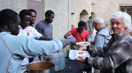 La cena etnica a Bormio (Nat.P.)