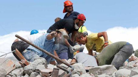 Terremoto nel Centro Italia (Lapresse)