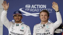 Hamilton e Rosberg (Ansa)