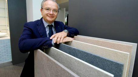 Enzo Donald Mularoni, 64 anni, aveva fondato la Ceramica del Conca nel 1979 (foto Filippo Pruccoli)