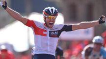 Prima vittoria in un grande giro per il 29enne Jonas Van Genechten (Tim De Waele)