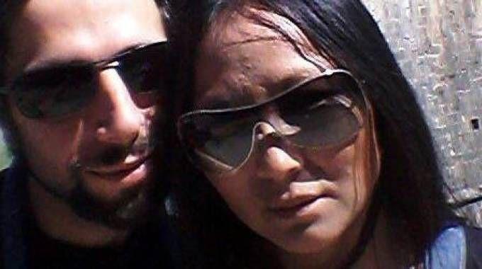 Diego Galante con la compagna Sook Mancini