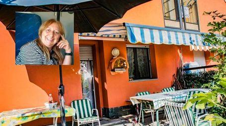 Omicidio in via Montecampione a Seriate, nel riquadro Gianna Del Gaudio (Fotogramma)