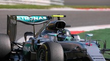 Nico Rosberg al Gp del Belgio (Ansa)