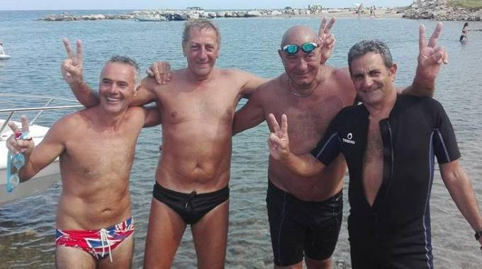 I quattro nuotatori