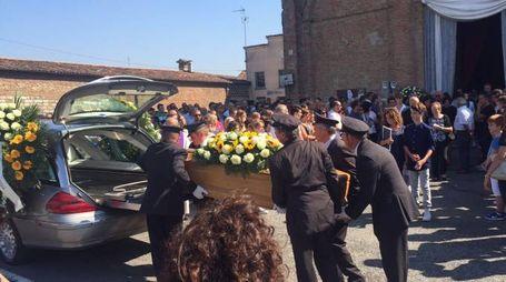 Il funerale di Sergio Premoli
