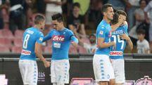Jose Maria Callejon, due gol al Milan (Afp)