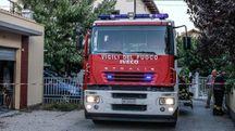 Vigili dedl fuoco in via Dalmazia (FotoPrint)
