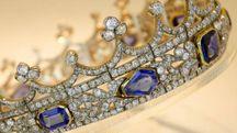 Il prezioso diadema della regina Vittoria (Ansa)