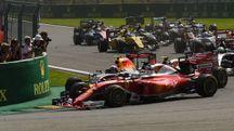 Ferrari F1, l'incidente a Spa (AFP)