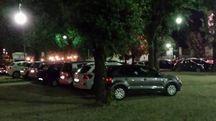 Le auto in sosta