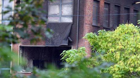 Esplosione a Bruxelles, fiamme all'istituto di criminologia (Ansa)