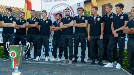 La squadra con la Coppa Italia vinta nella passata stagione (Cavalleri)