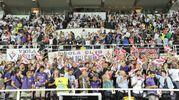 Tifosi della Fiorentina al Franchi