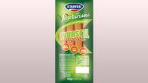 La confezione dei wurstel vegetali – Foto: Stuffer