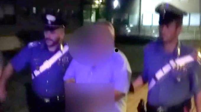 L'arresto per l'omicidio di Carmela Aparo (Newpress)