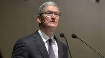 Tim Cook, ad di Apple (Imagoeconomica)