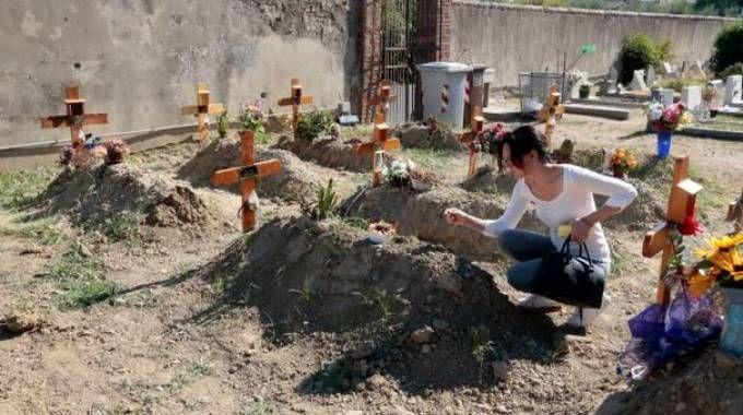 Il cimitero di Pontorme
