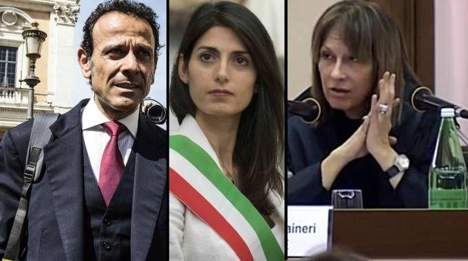 Marcello Minenna, Virginia Raggi e Carla Romana Raineri