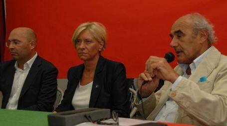 Frasca/ROBERTA PINOTTI ministro delle difesa alla festa PD di Vecchiazzano