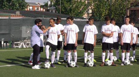 I giocatori durante gli allenamenti