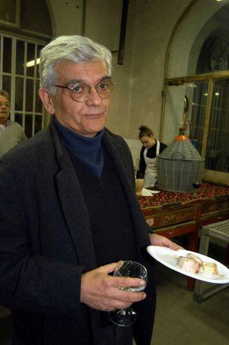 Nel 2003 a una festa alle Officine Brandimarte (archivio New Press Photo)