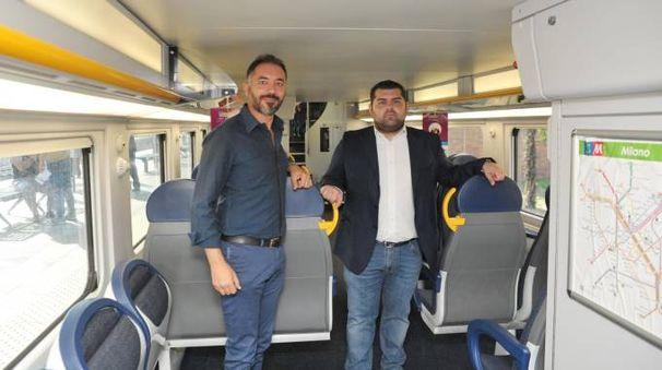 Il sindaco Vito Bellomo e l'assessore regionale Alessandro Sorte sulla nuova S12