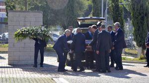 Ciampi, l'arrivo del feretro al cimitero della Misericordia (foto Novi)