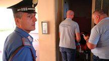 Il luogo dell'omicidio (foto Acerboni/FotoCastellani)