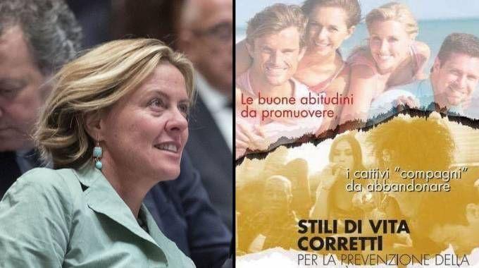 Fertility day, nuova bufera sulla Lorenzin: manifesto razzista