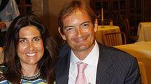 Giulia Ballestri e Matteo Cagnoni: la coppia ha tre figli piccoli